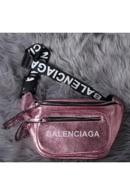 7e9d780158a6 Сумки сумка бананка баленсиага розовый металик эко кожа 21910 Украина
