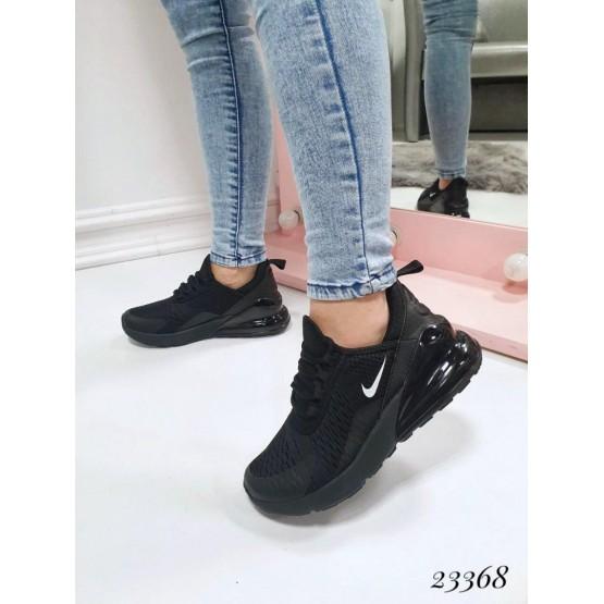 Демисезонные Кроссовки Nike air; Подошва сзади-4,5 см; спереди-2 см ; Высота от пятки 7 см; Размер в размер; с 36 по 41; 36-23,5 ; 37-24; 38-24.5 ; 39-25 ; 40-26; 41-26,5 см черный текстиль 23368 Китай