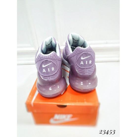 """Демисезонные Кроссовки  """"Nike Air Max 270"""" Подклад  текстиль ; каждая  пара  в  коробке  ;Подошва сзади-3.5 см; спереди-1,5 см ; Высота задника 8 см; Размер в размер;с 37по 41; 37-23,5 ; 38-24; 39-24,5 ; 40-25,5 ; 41-26 см. Фиолетовый РЕЗИНА 234"""