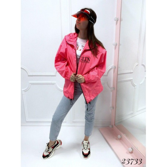 Ветровка Valentino розовый Плащевка 23733 Китай L(р)