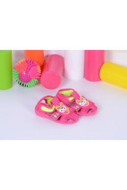 Демисезонная Детская обувь босоножечки Зайки розовый обувной текстиль 17331 Турция