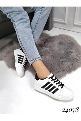 Женские стильные кеды с полоской Adidas