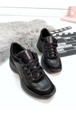 Женские кроссовки из натуральной кожи