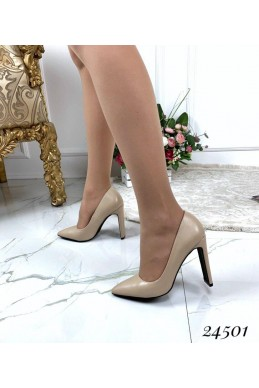 Туфли классика на высоком каблуке