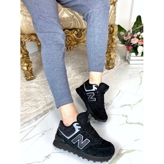 Черные кроссовки зимние