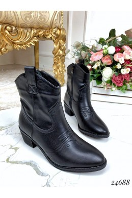 Ботинки казаки демисезонные
