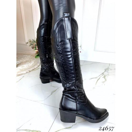 Ботинки казаки высокие
