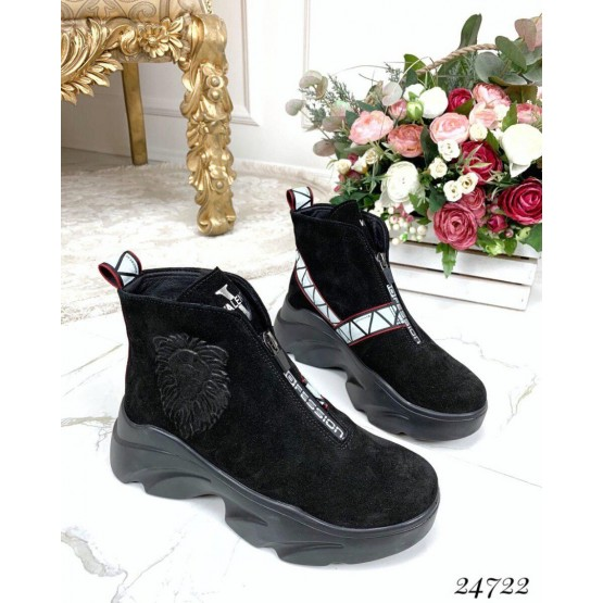 Зимние ботинки Valentino