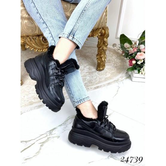 Зимние ботинки спортивные