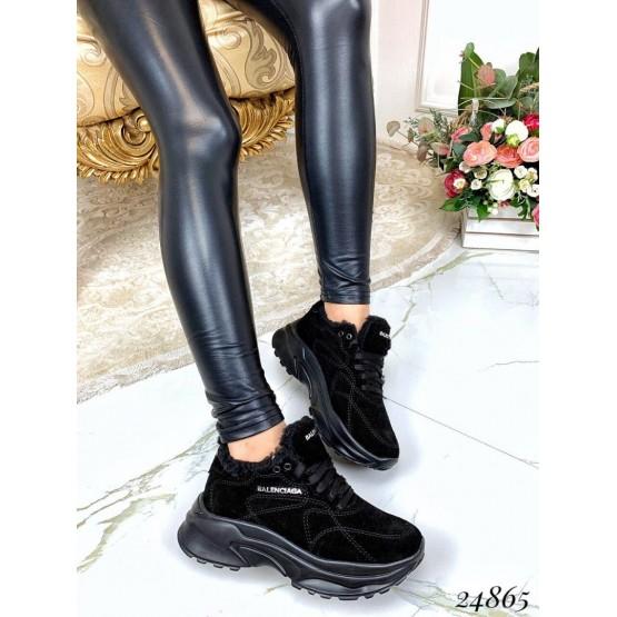Зимние кроссовки Balenciaga