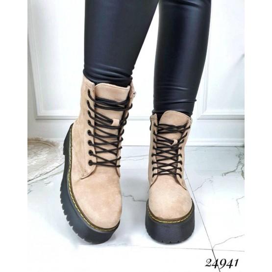 Ботинки замшевые Dr. Martens Jado