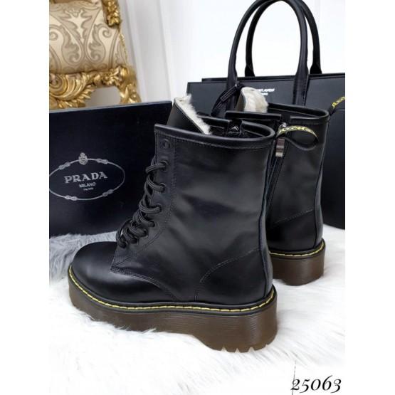 Женские кожаные ботинки Dr. Martens