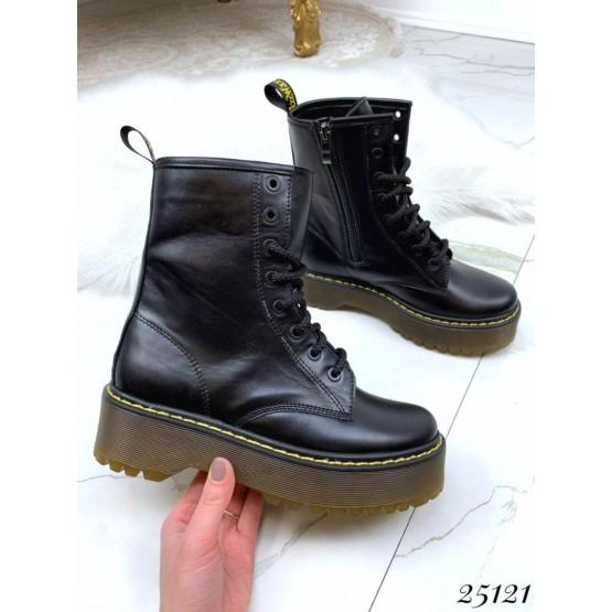 Кожаные ботинки Dr. Martens
