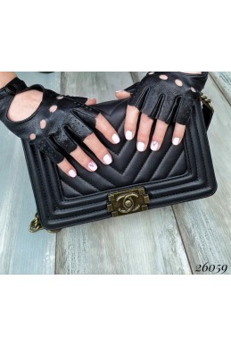 Женские перчатки митенки