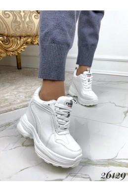 Сникерсы женские на шнуровке fashion sport