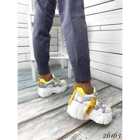 Кроссовки Jintu Sports желтый