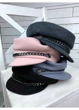 Женская кепи кашемир