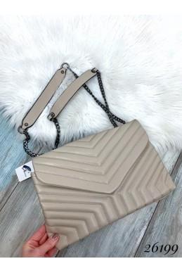 Стеганая сумка в стиле Zara