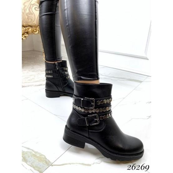 Демисезонные ботинки ремешки