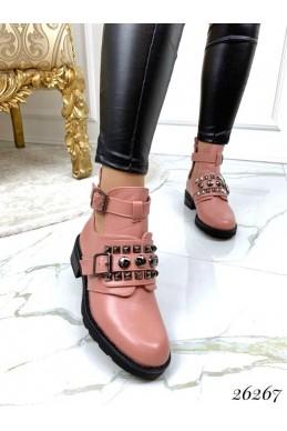 Открытые ботинки на ремешке эко кожа