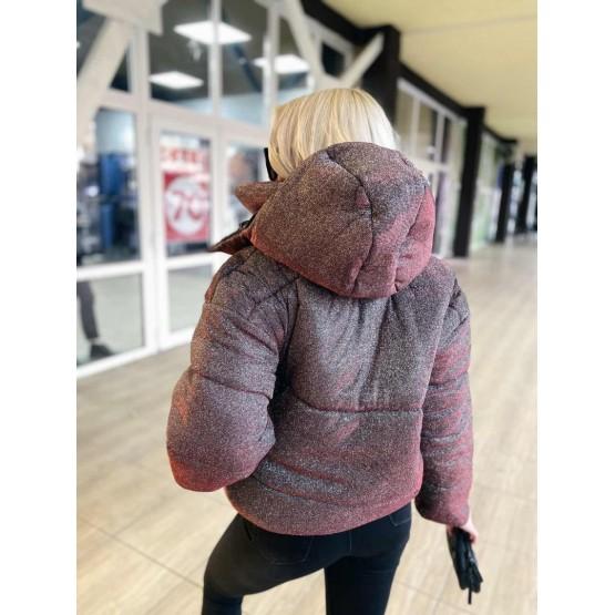 Куртка демисезонная блестки