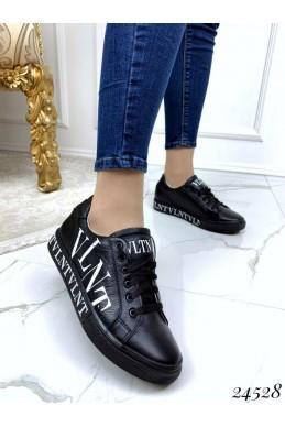 Кожаные кеды VLNT на шнуровке