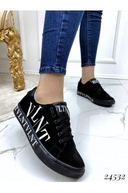 Замшевые кеды VLNT на шнуровке