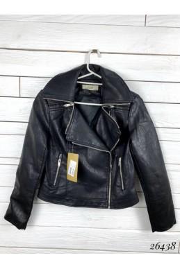 Кожаная женская куртка