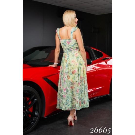 Летнее платье в цветочек Artj