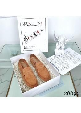 Туфли лоферы классика брэнд Nina_Mi