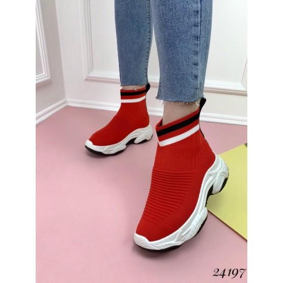 Высокие кроссовки-носки Balenciaga