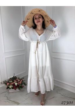 Платье прошва длинное