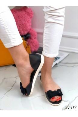 Сандали силикон с открытым носком