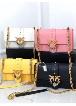 Сумка клатч PINKO Love Bag на цепочке