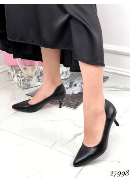 Туфли комфорт на низком каблучке
