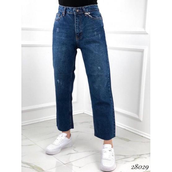 Джинсы Straight Leg с завышенной талией