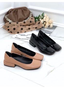 Стильные лаковые туфли TOTO