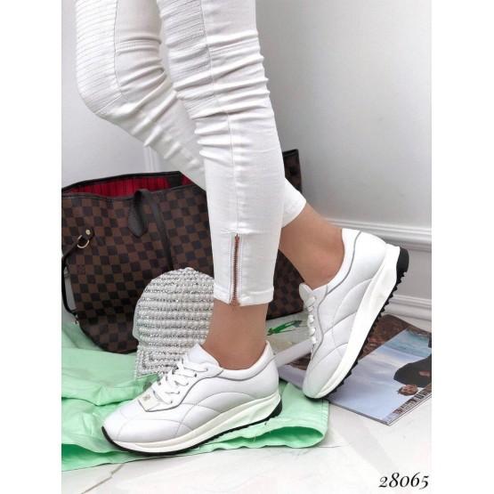 Кроссовки кожаные Andano