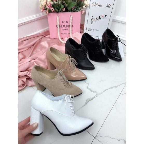 Закрытые туфли на шнурках NINA_MI