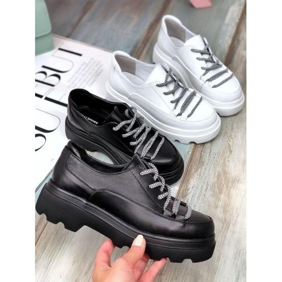 Туфли на тракторной подошве