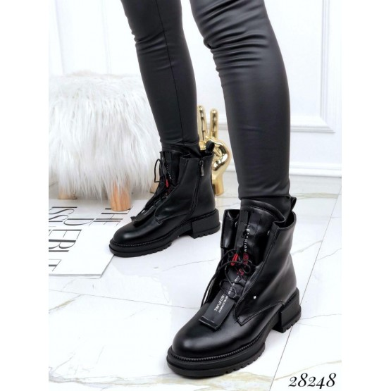 Ботинки зимние классика на шнуровке