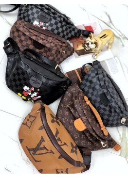 Сумка бананка  Bumbag Louis Vuitton, Мики