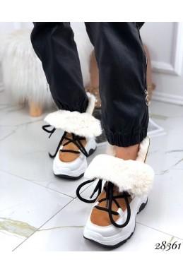 Ботинки зимние на спортивной подошве