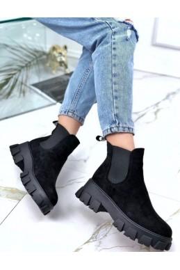 Ботинки сбоку  на резинках