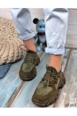 Кроссовки на тракторной подошве