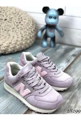 Кроссовки замшевые  с белой полоской