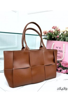 Дутая сумка  в стиле Bottega Veneta