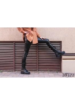 Ботинки высокие на шнуровке Nina mi