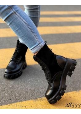 Ботинки зимние со сьемным кармашком