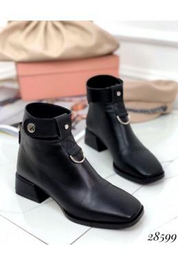 Ботинки демисезон с ремешком вокруг ноги